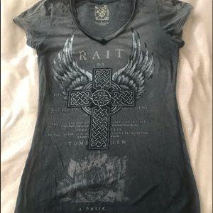 Velvet stoneT-shirt gray women's large